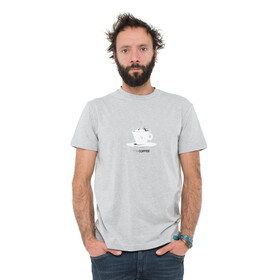 ABK Coffee T-shirt Homme, light grey
